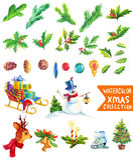 Christmas decoration elements Stock Photo
