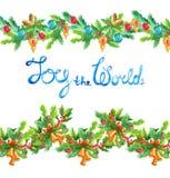 Christmas decoration elements Royalty Free Stock Photo
