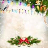 Christmas decoration. EPS 10 Stock Photo