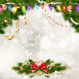 Christmas decoration. EPS 10 Royalty Free Stock Image