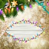 Christmas decoration. EPS 10 Stock Photos