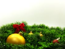 Christmas decoration and feeli stock images