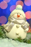 Christmas decoration, figure of snowman Royalty Free Stock Images