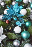 Christmas decoration of fir tree. Stock Photo