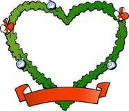 Christmas decoration fraim. Hand-drawn Vector illustration of an christmas decoration fraim Stock Image