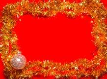 Christmas decoration frame Stock Photography