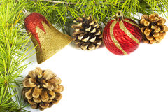 Christmas decoration - frame Royalty Free Stock Photo