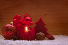 Christmas decoration and gift. Royalty Free Stock Photos