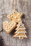 Christmas Decoration. Gingerbread Cookies Hanging Stock Images