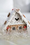 Christmas decoration gingerbread. Small cottage, house stock images