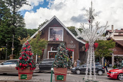 Christmas Decoration Gramado Brazil Royalty Free Stock Photos