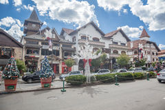 Christmas Decoration in Gramado Stock Images