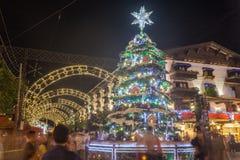 christmas decoration gramado night Στοκ Εικόνες