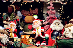 Christmas decoration. A group of Christmas decoration royalty free stock images