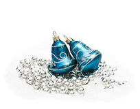 Christmas decoration hand bells Royalty Free Stock Photo