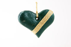 Christmas decoration - heart Royalty Free Stock Photos