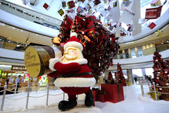 Christmas Decoration in Hong Kong Royalty Free Stock Photography