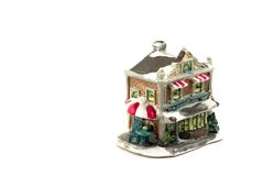 Christmas Decoration House - 7. Christmas Decoration House Royalty Free Stock Photo