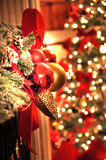 Christmas decoration. In house area Royalty Free Stock Photo