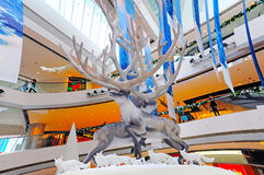 Christmas decoration in ifc hong kong Stock Photos