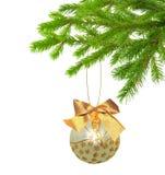 Christmas decoration isolated. On white background Stock Photography
