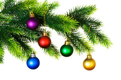 christmas decoration isolated Στοκ φωτογραφία με δικαίωμα ελεύθερης χρήσης