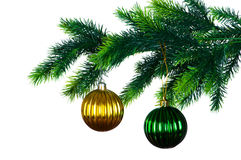 Christmas decoration isolated Stock Photo