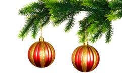 Christmas decoration isolated Stock Photo
