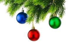 Christmas decoration isolated Royalty Free Stock Photo
