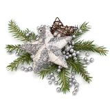 Christmas decoration isolated on white background Stock Image