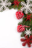 Christmas decoration isolated Royalty Free Stock Photography