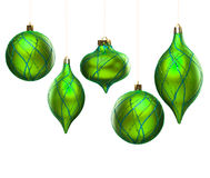 Christmas decoration isolated Stock Photography