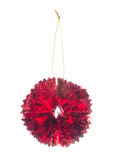 Christmas decoration isolated on white Royalty Free Stock Photography