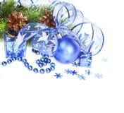 Christmas decoration isolated on white Royalty Free Stock Image