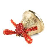 Christmas decoration jingle bell. Royalty Free Stock Images