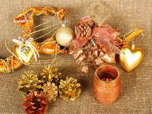 Christmas decoration k Stock Photography