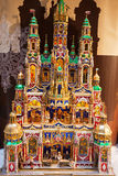 Christmas Decoration, Krakow, Poland Royalty Free Stock Images