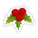 Christmas decoration leave design Stock Photos