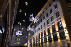 Christmas decoration in London Royalty Free Stock Images