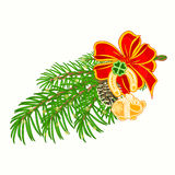 Christmas decoration lucky symbols vector Royalty Free Stock Photo