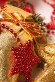 Christmas decoration . macro Stock Photos