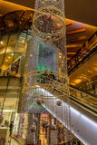Christmas decoration in a mall, Prague, Czech Republic Royalty Free Stock Photo