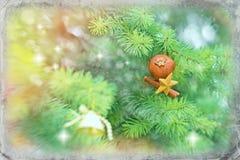 Christmas decoration - Merry Christmas Stock Image