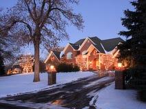 Christmas decoration in Minnesota Royalty Free Stock Photo