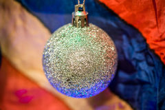 Christmas decoration on multicolour background Stock Photography