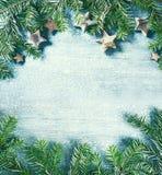 christmas decoration natural αφηρημένο ανασκόπησης Χριστουγέννων σκοτεινό διακοσμήσεων σχεδίου λευκό αστεριών προτύπων κόκκινο δι Στοκ Φωτογραφία