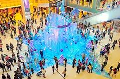 Christmas decoration at new town plaza, hong kong Stock Image