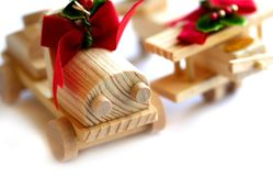 Christmas Decoration Objects Royalty Free Stock Images