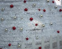 Christmas decoration objects background photograph royalty free stock image