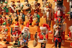 Free Christmas Decoration On Advent Market. Royalty Free Stock Photo - 124845435